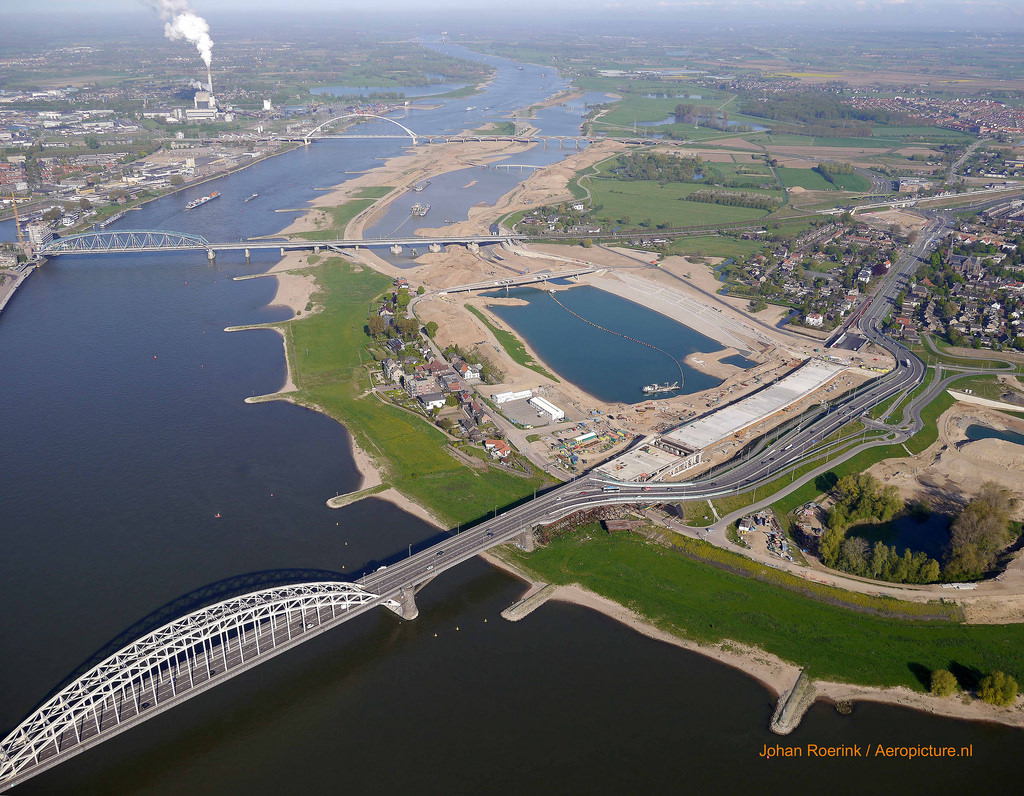 Room for the Waal project reduces Nijmegen flood risk