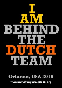 I am behind the Dutch Team