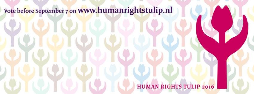 Voting opens for 2016 Human Rights Tulip award