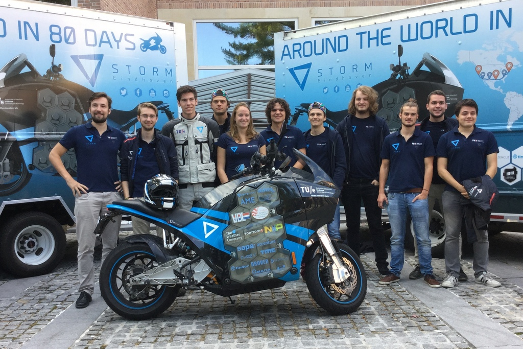 Long-distance electric motorcycle arrives in D.C.
