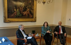 Netherlands Statistics visits Georgetown to discus ...