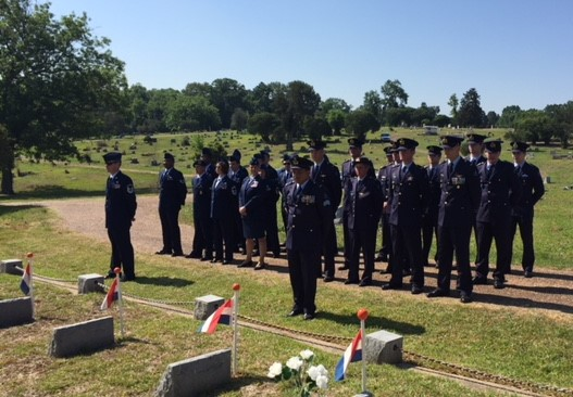 Remembering the fallen airmen of the Royal Netherlands Flying School in Mississippi