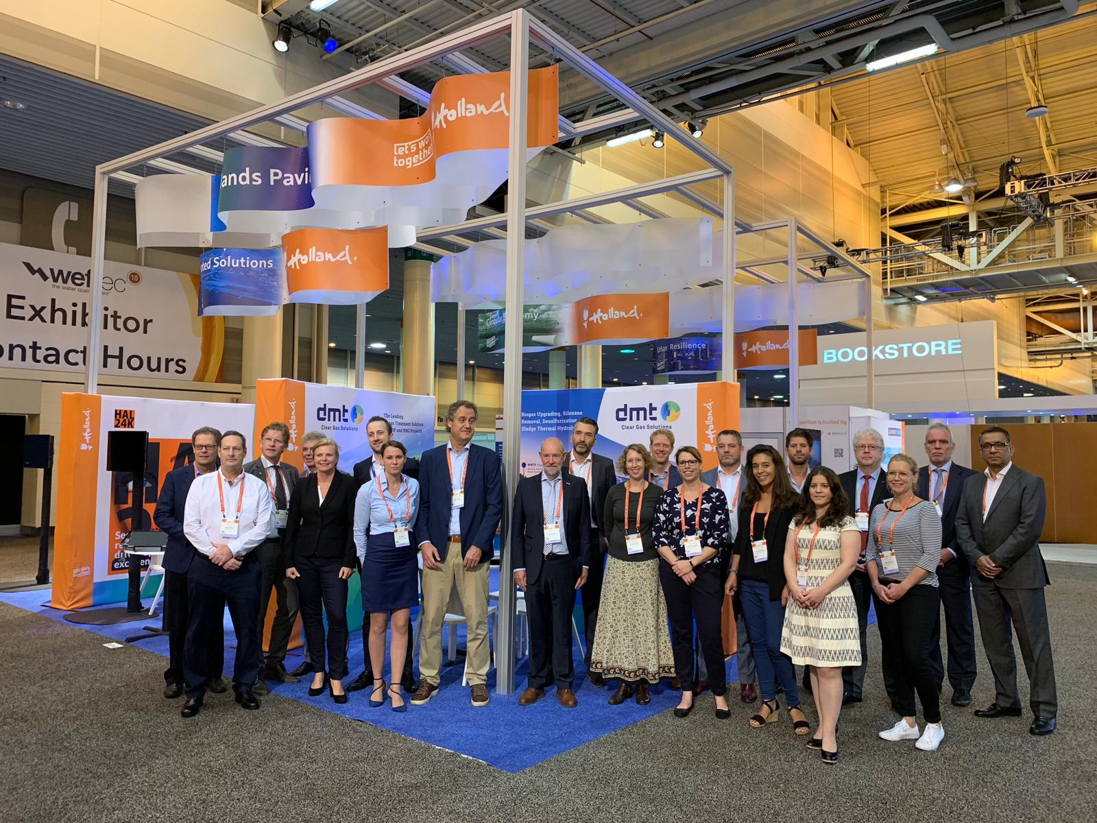 Dutch water expertise to be on display during WEFTEC