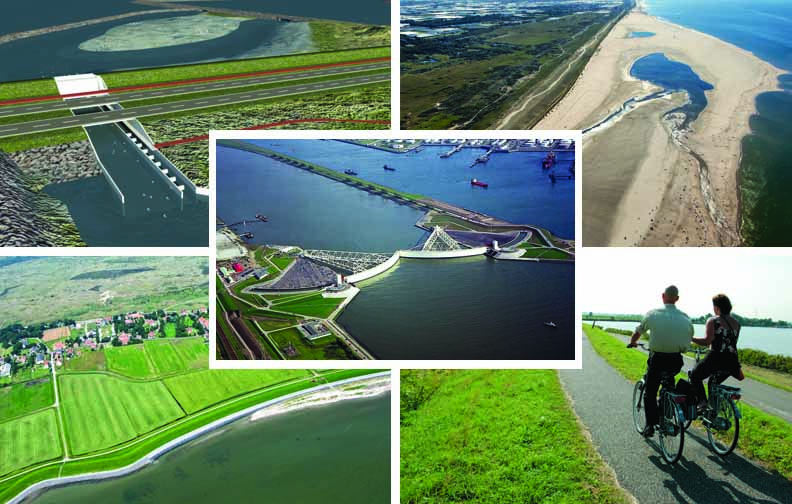 American news coverage of Dutch water management