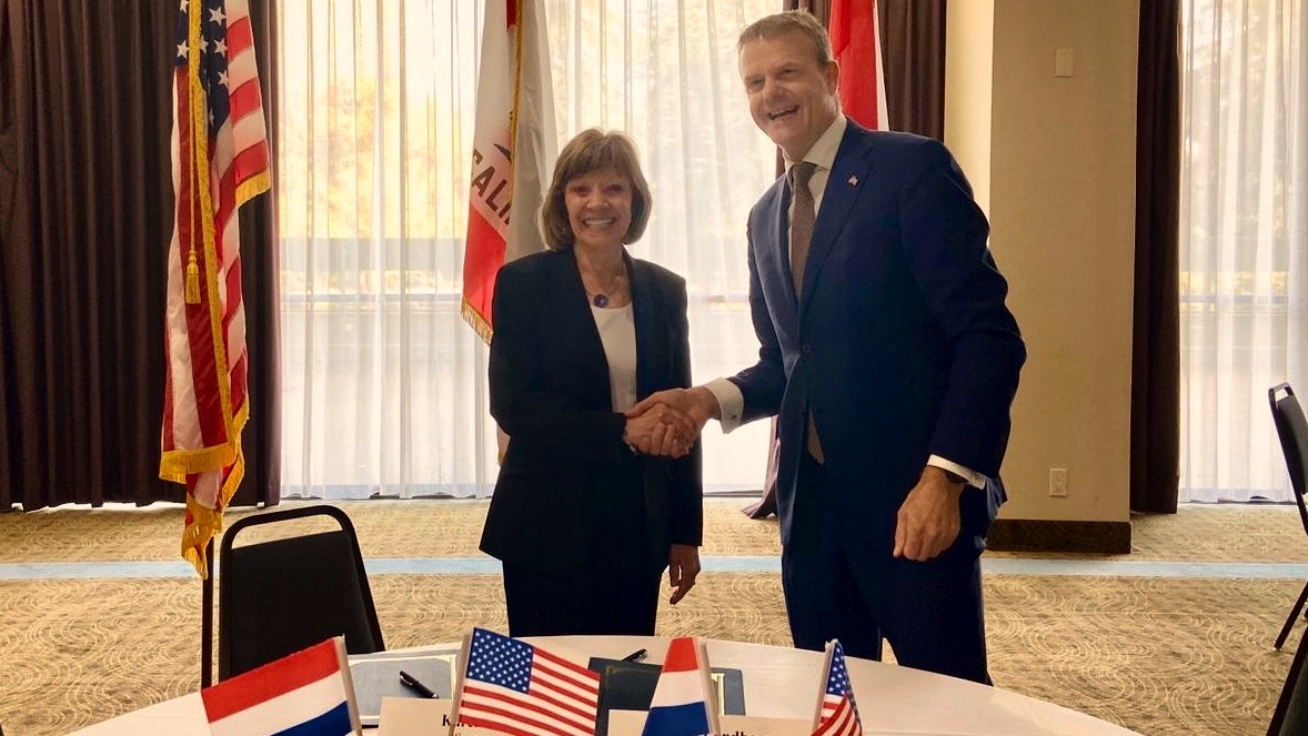 California and the Netherlands work together on agricultural sustainability