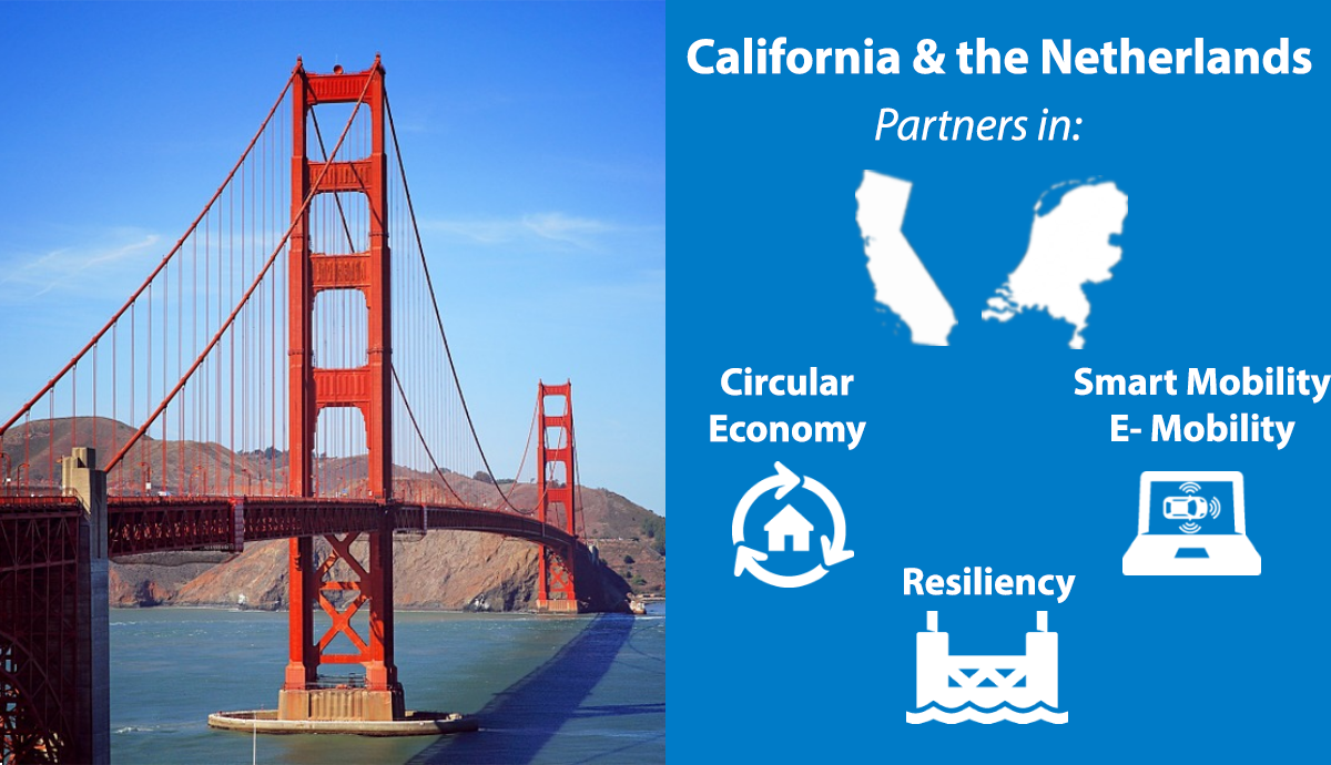 Visit to California to build partnerships in resiliency, smart mobility, and circular economy