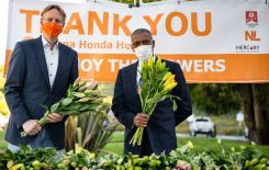 5000+ lilies greet workers in California hospital