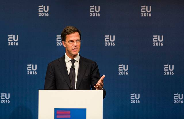 Prime Minister Rutte's statement on the attacks in Brussels