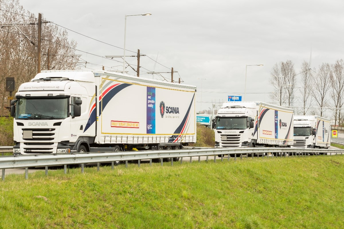 Dutch business community welcomes truck platoons