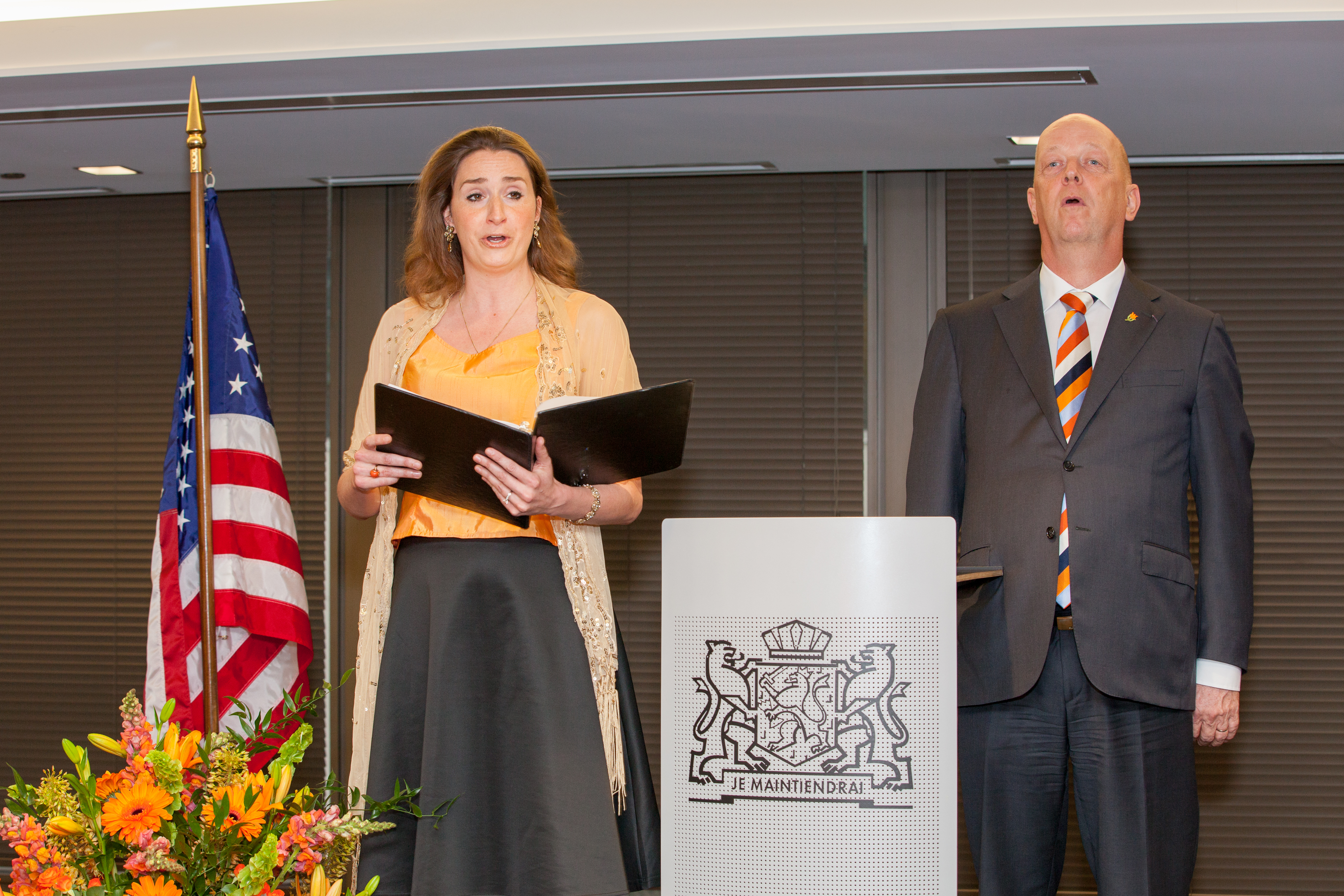 Formal meets informal for King's Day in Chicago