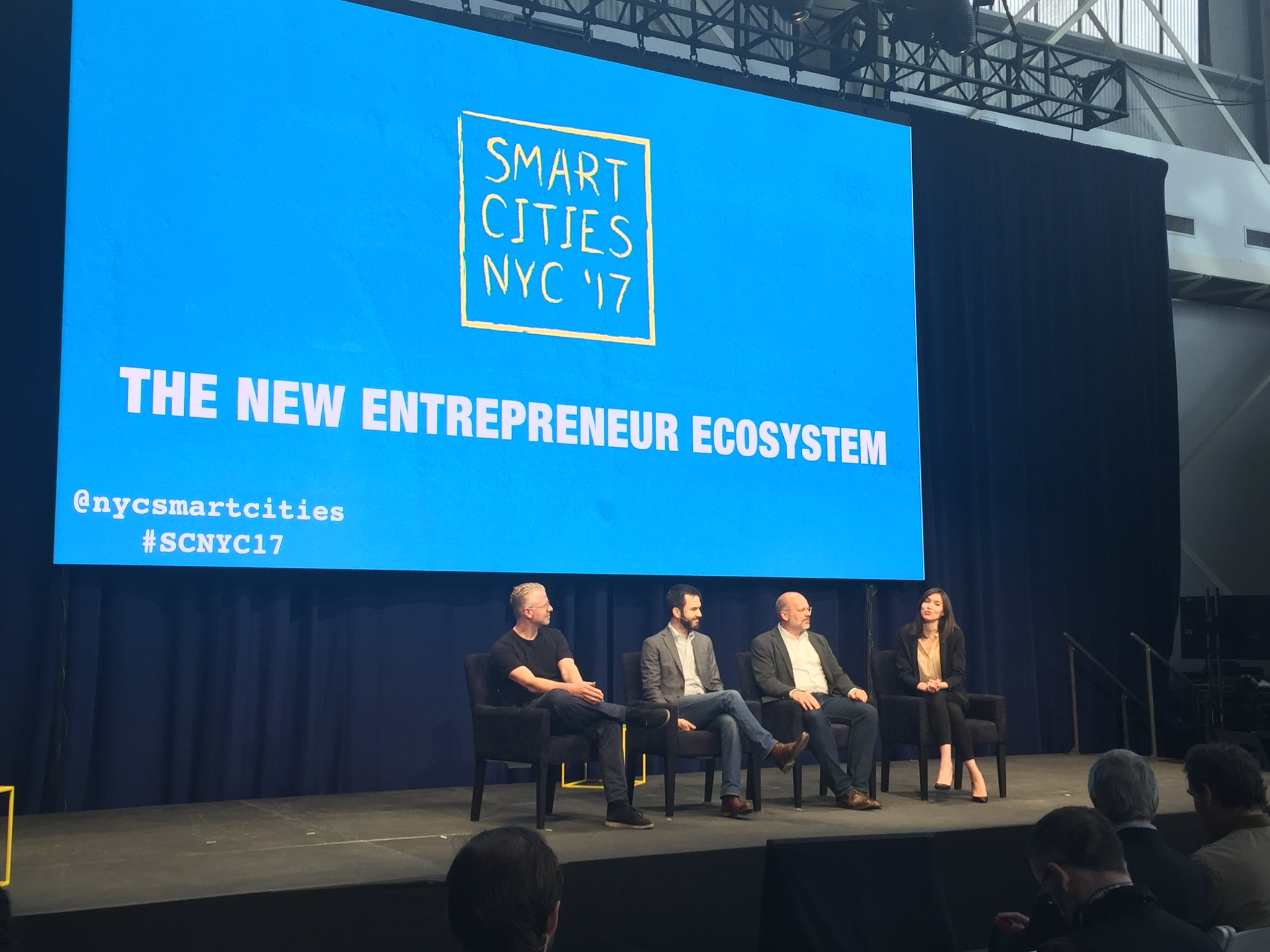 Dutch delegation attends Smart Cities NYC