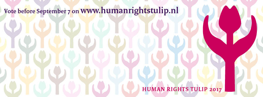 Voting opens for 2017 Human Rights Tulip award