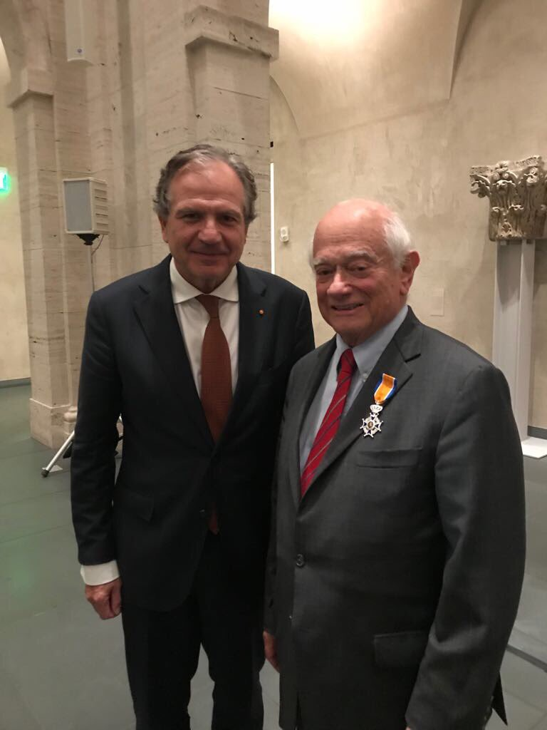 George Abrams Appointed Knight in the Order of Orange-Nassau