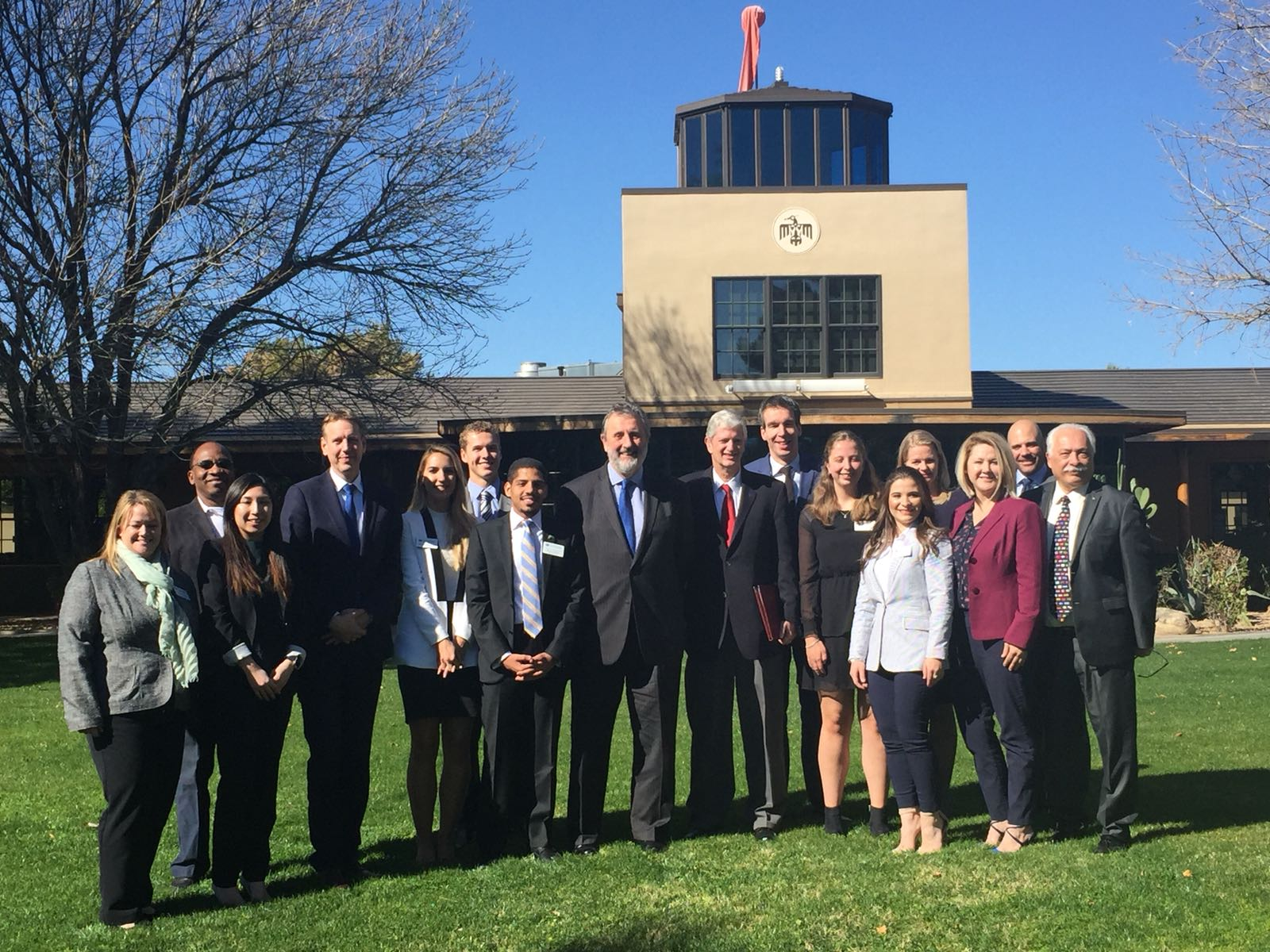 Ambassador Schuwer visits Thunderbird School of Global Management