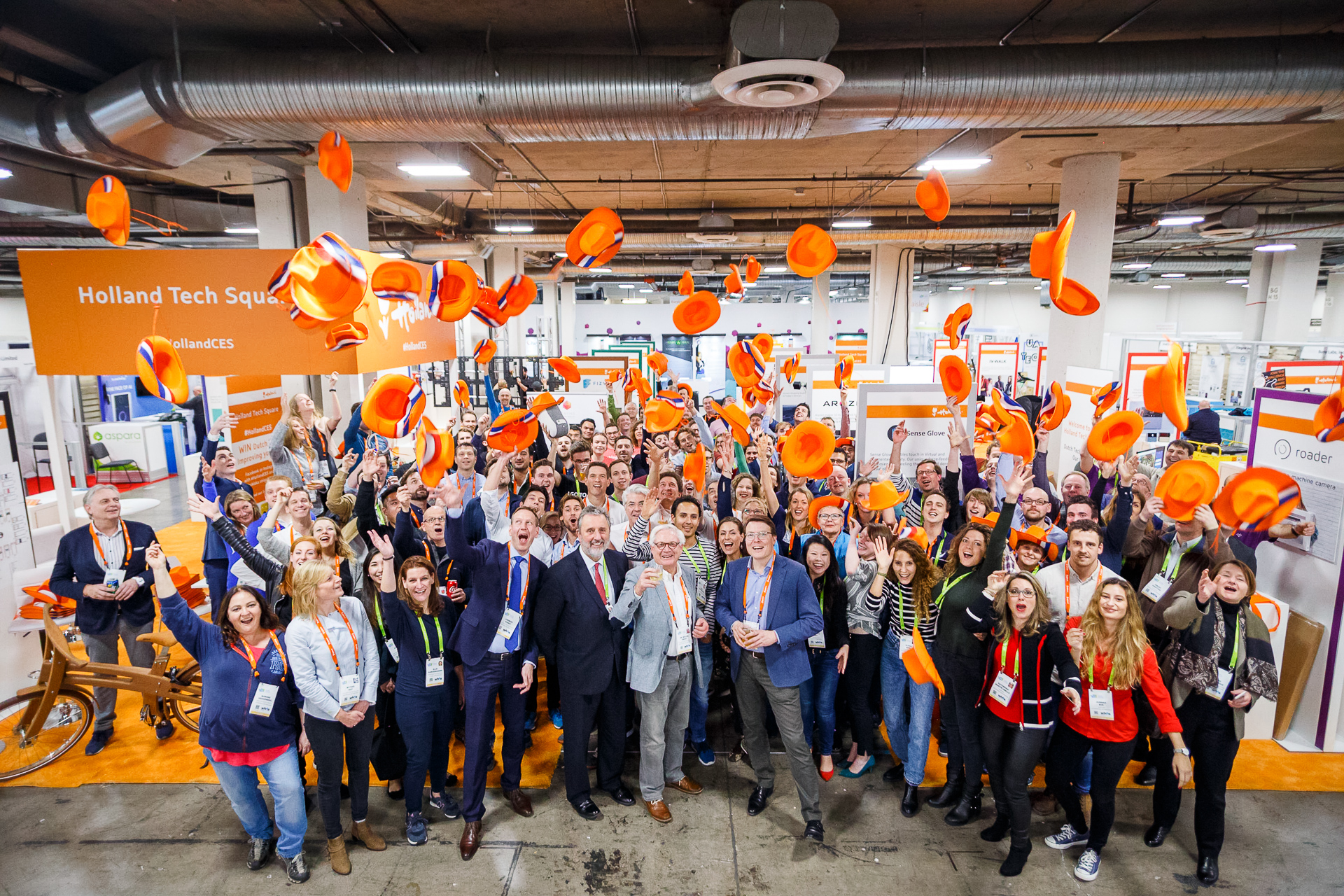 Holland Startup Pavilion largest single-country pavilion at CES 2018