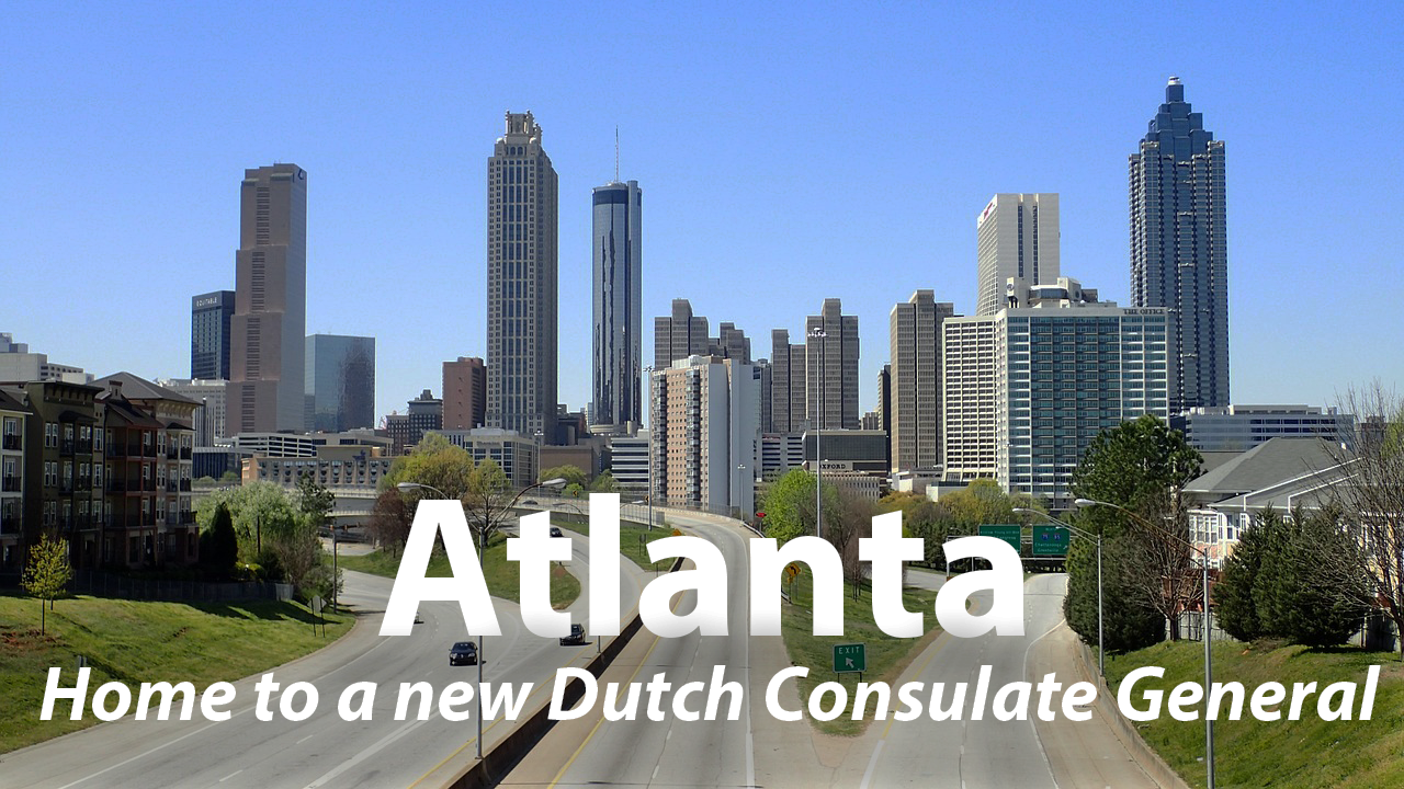 Atlanta home to new Dutch consulate general