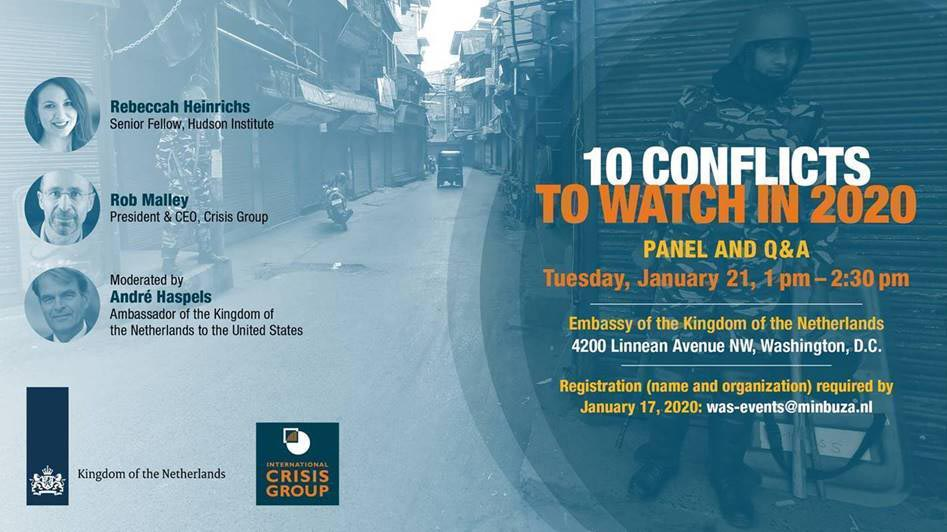 Panel discussion: 10 conflicts to watch