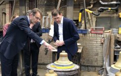 Ambassador inspects carillon bells restoration