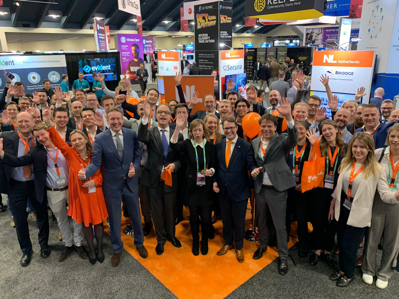 Holland Pavilion at RSA 2020 presents the Dutch