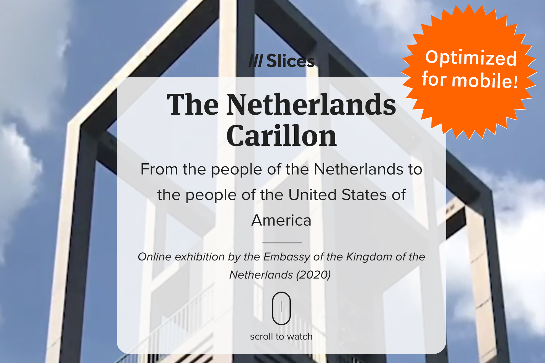 Online Exhibition: The Netherlands Carillon