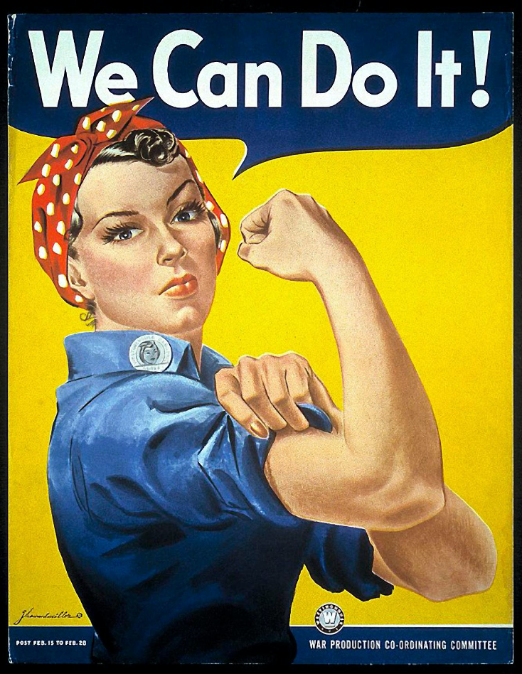 A tribute to Rosie the Riveter