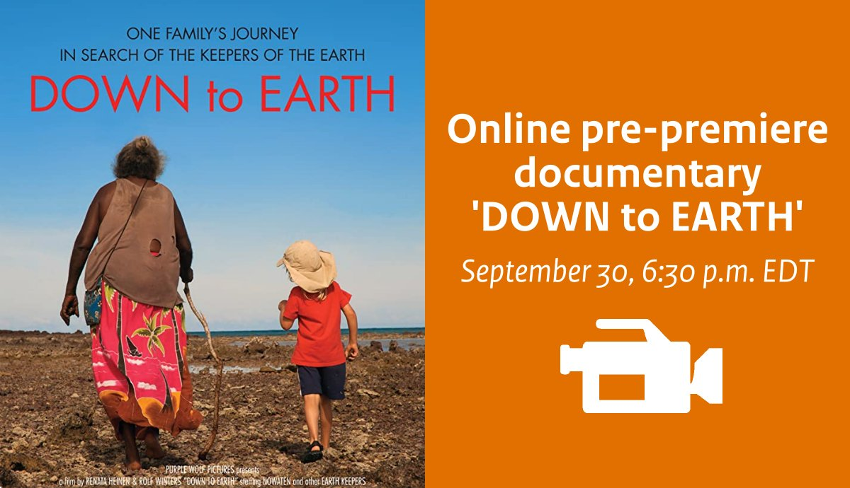 Pre-premiere of documentary 'DOWN to EARTH'
