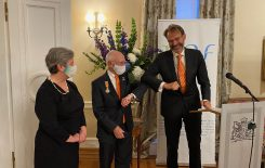 Dykstra receives royal decoration for lifetime ded ...