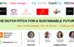 Dutch scaleups to pitch for a sustainable future
