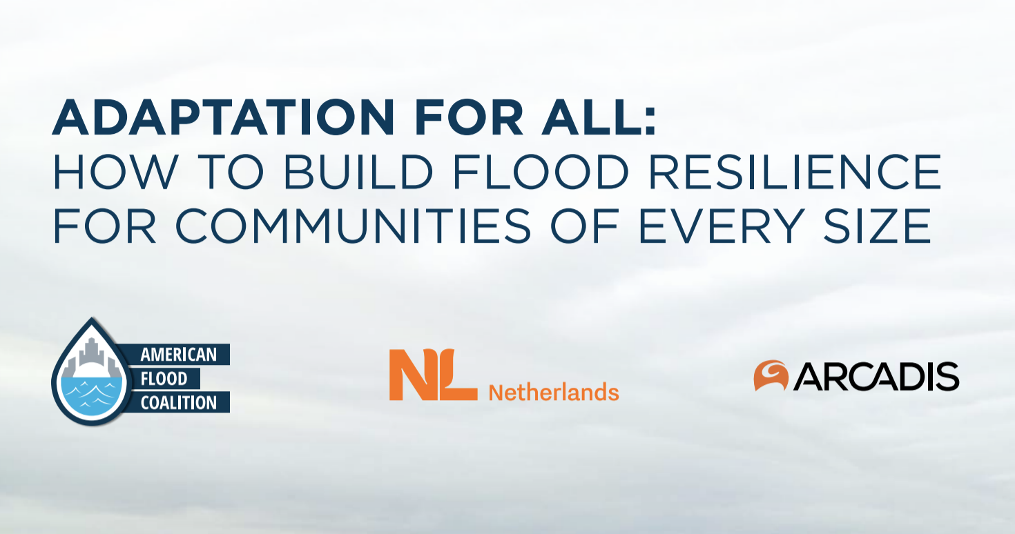 'Adaptation for All' guide boosts flood resilience for communities