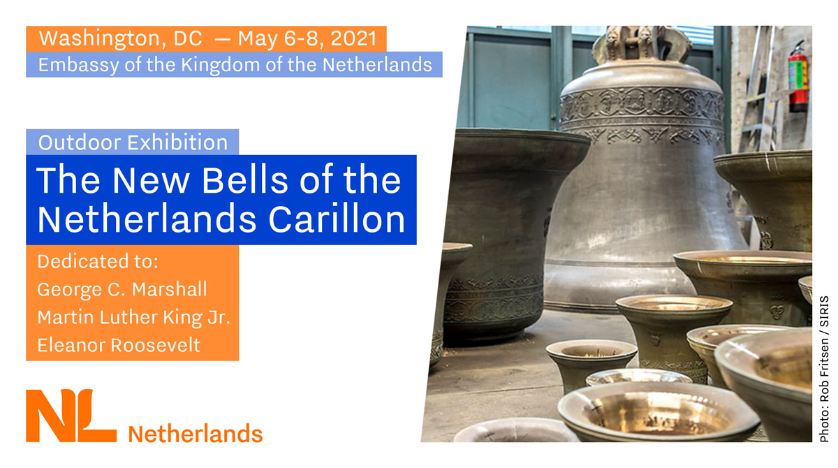 The new bells of Netherlands Carillon
