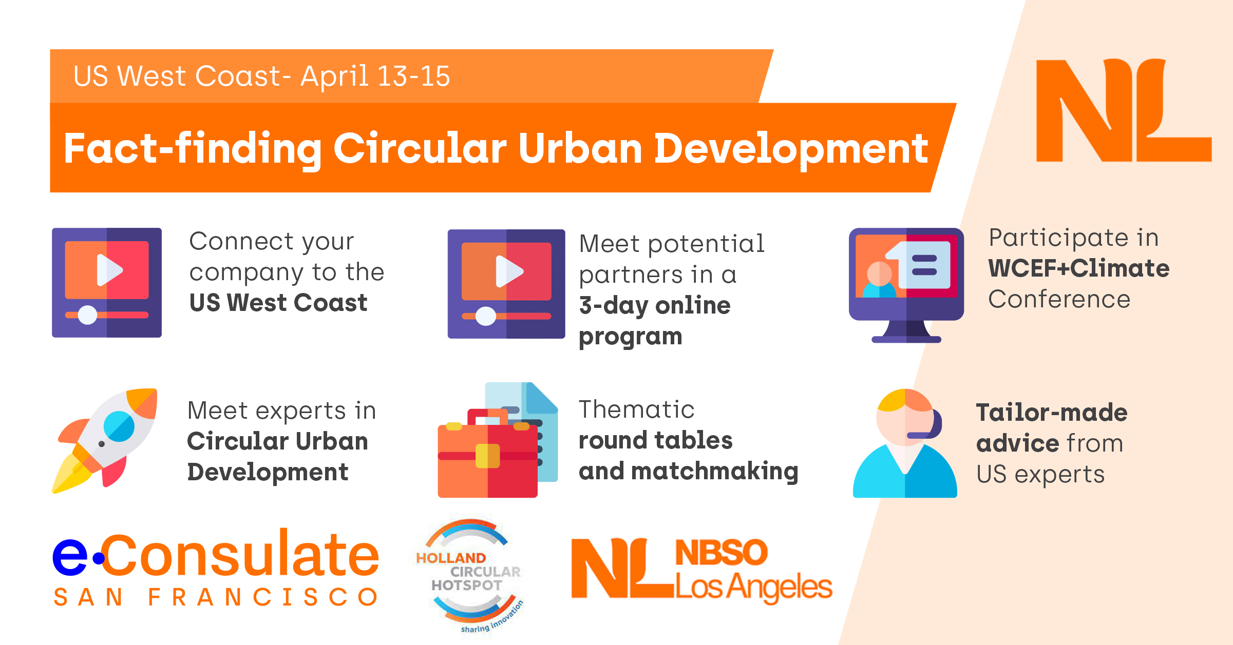 Fact-finding mission: Circular Urban Development, US West Coast