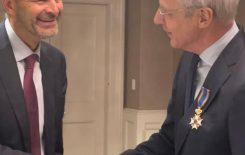 Prof. Bert Hofman appointed a Knight of the Order  ...